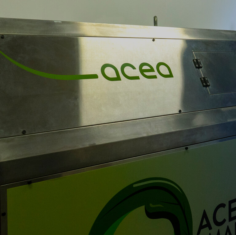 Acea Smart Comp, the zero kilometer organic composting system