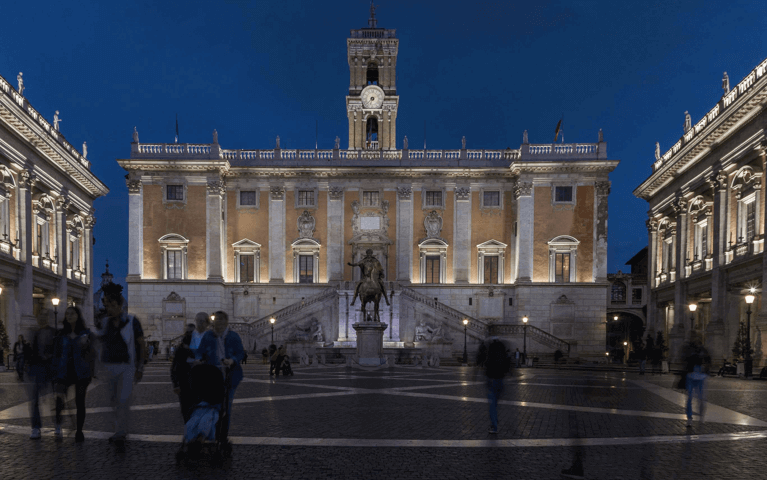 Acea and LED lighting on the Capitoline Hill