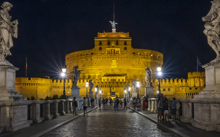 Discover the commitment of Acea for the lights of Castel Sant'Angelo