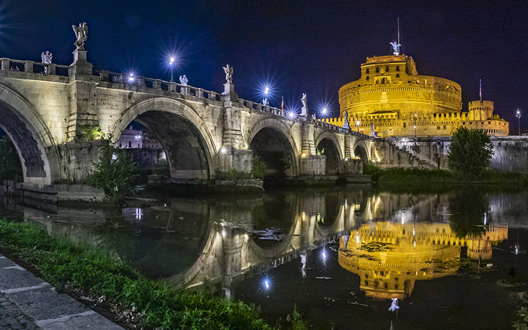 Acea LED lights for the artistic lighting of Rome's monuments