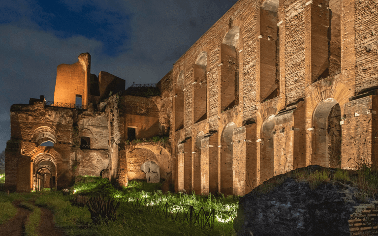 Discover how Acea gives lights to the Palatine Hill