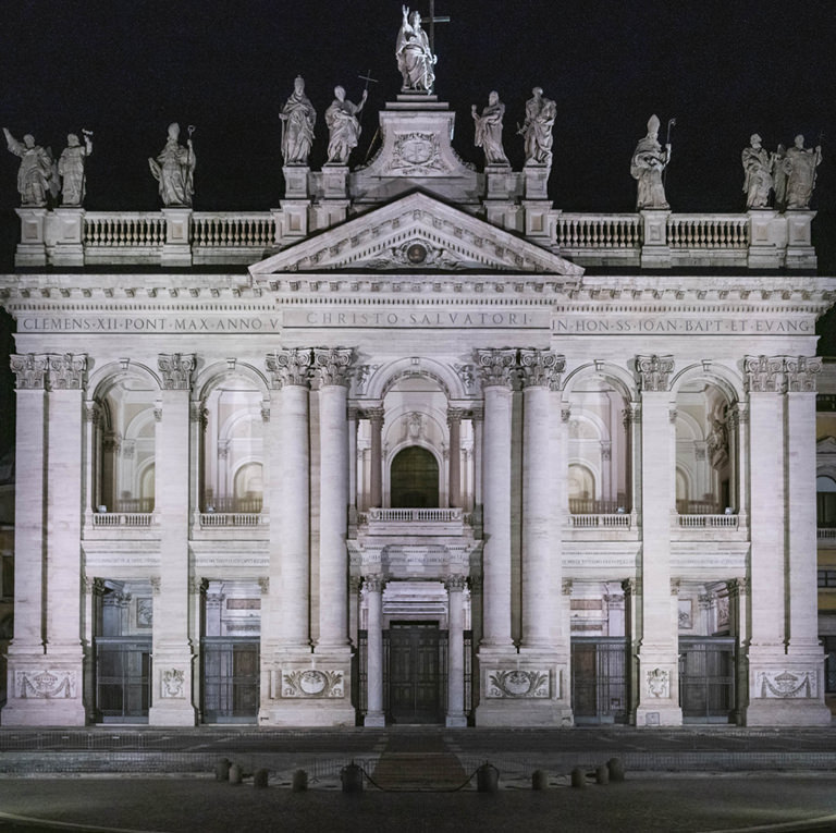 Acea's role for the lighting of Basilica of San Giovanni in Laterano