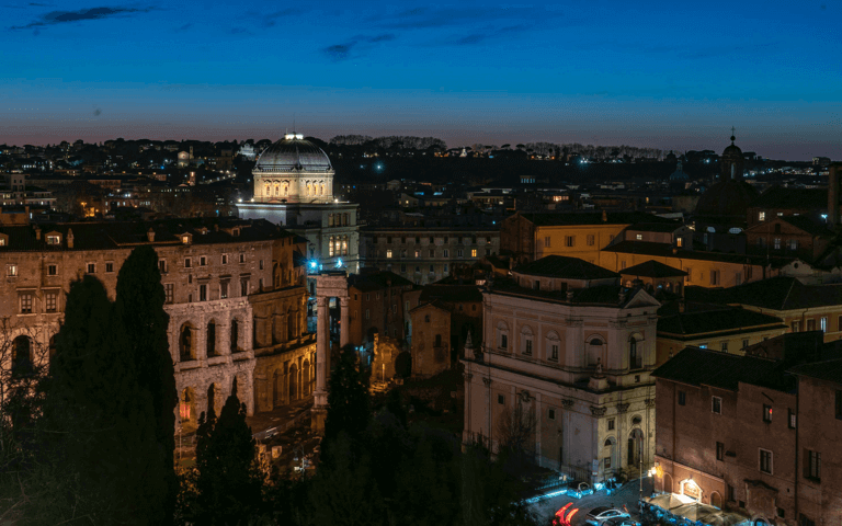 Acea, Rome's Synagogue LED lighting