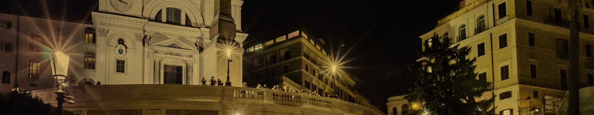 Acea's contribution to lighting up the steps at Trinità dei Monti in Rome