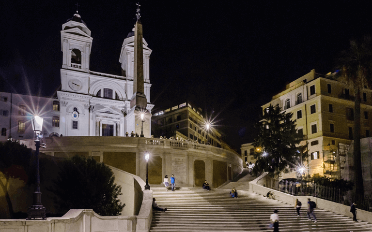 Find out how Acea gives lights to Trinita dei Monti